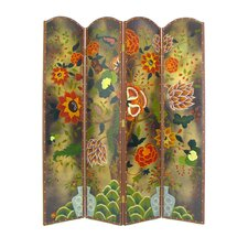 "72"" x 64"" Tree of Life 4 Panel Room Divider"