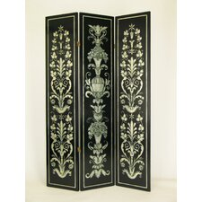 "72"" x 48"" Athens 3 Panel Room Divider"