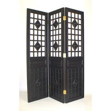 "78"" x 60"" Guard Gate 3 Panel Room Divider"