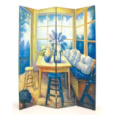 "<strong>Wayborn</strong> 72"" x 64"" The Den 4 Panel Room Divider"