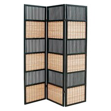 "<strong>Wayborn</strong> 70"" x 52"" Alternating 3 Panel Room Divider"