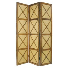 "78"" x 54"" South Seas 3 Panel Room Divider"