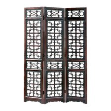 "84"" x 60"" West Lake 3 Panel Room Divider"