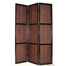 "78"" x 54"" 3 Panel Room Divider"