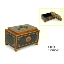 Jewelry Box with Beveled Lid
