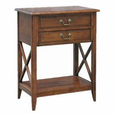Eiffel 2 Drawer Nightstand