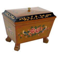 Hand Painted Box with Moldings