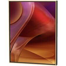 Copper Caverns Limited Edition by Scott J. Menaul Framed Graphic Art