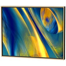 Way Cool Blue Limited Edition Framed Canvas - Scott J. Menaul