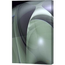 Olive Swirls Vertical Limited Edition Canvas - Scott J. Menaul