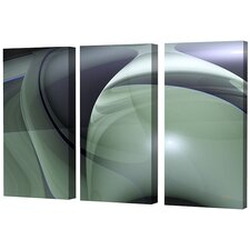 Triptych Limited Edition by Scott J. Menaul 3 Piece Framed Graphic Art Set (Set of 3)