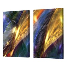 Four Tori Diptych Limited Edition by Scott J. Menaul 2 Piece Framed Graphic Art Set (Set of 2)