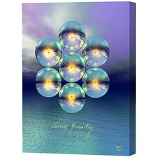 Sacred Geometry Limited Edition by Scott J. Menaul Framed Graphic Art