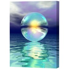 Sphere in Water Limited Edition by Scott J. Menaul Framed Graphic Art