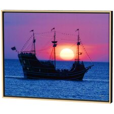 Pirate Ship Limited Edition by Scott J. Menaul Framed Photographic Print