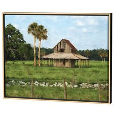 Sarasota Barn Limited Edition Framed Canvas - Scott J. Menaul