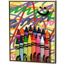 Crayons Limited Edition Framed Canvas - Scott J. Menaul