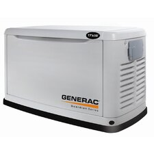 Guardian 17 Kw Air-Cooled Single Phase 120/240 V Natural Gas Propane Standby Generator in Steel Enclosure