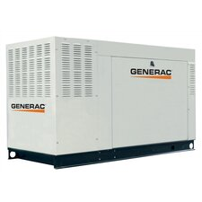 60 Kw Liquid-Cooled Three Phase 120/208 V Natural Gas Standby Generator with CSA, and EPA Compliance in Aluminum