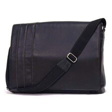 "Business Cases ""What's the Bag Idea?"" Single Gusset Laptop Messenger Bag"