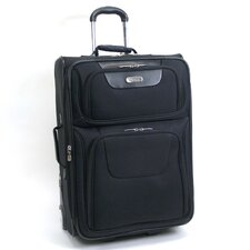 "Lite It Up 25"" Rolling Suitcase"