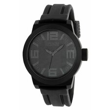 <strong>Kenneth Cole Reaction</strong> Men's Straps Watch in Black