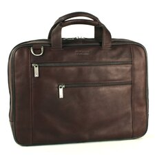 Computer Case Leather Laptop Briefcase