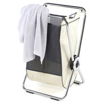 Single Steel X-Frame Laundry Hamper