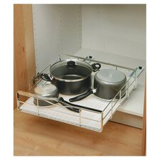 20-inch Pull Out Cabinet Organizer, Heavy Gauge Steel