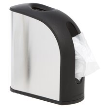 Grocery Bag Dispenser, Stainless Steel