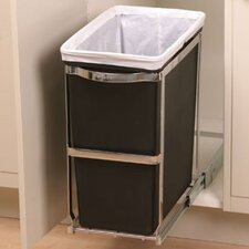 30 L / 8 Gal, Under-Counter Pull-Out Trash Can, Commercial Grade