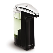 Compact Sensor Pump for Soap or Sanitizer in Black