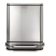 <strong>simplehuman</strong> 48-Liter Steel Bar Recycler