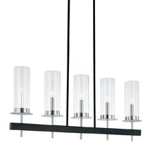 <strong>Sonneman</strong> Tuxedo Five Kitchen Island Light
