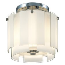 "Velo 13"" 2 Light Semi Flush Mount"