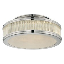 "Rivoli 12"" 2 Light Semi Flush Mount"