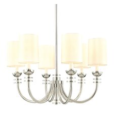 20th Century 6 Light Chandelier