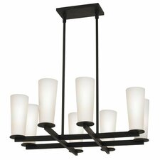 High Line 8 Light Square Pendant