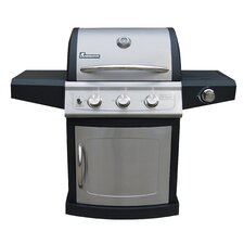 Falcon Series 3 Burner Gas Grill with Side Burner