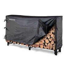 8' Log Rack with Cover