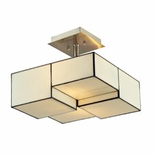 Cubist 2 Light Semi-Flush Mount
