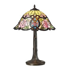 "Rosedale 22"" H Table Lamp with Bowl Shade"