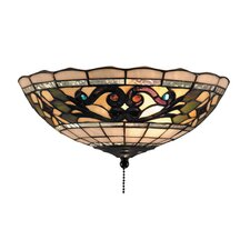 <strong>Elk Lighting</strong> Tiffany Buckingham 2 Light Ceiling Fan Light Kit