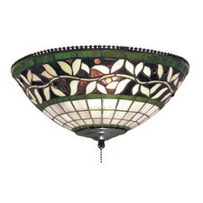 English Ivy 2 Light Ceiling Fan Light Kit