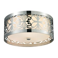 Willow Bend 3 Light Flush Mount