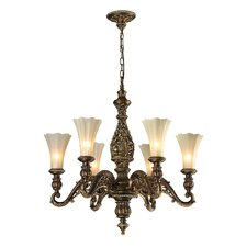<strong>Elk Lighting</strong> Allesandria 6 Light Chandelier