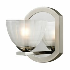 <strong>Elk Lighting</strong> Sculptive 1 Light Bath Vanity Light