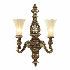 <strong>Elk Lighting</strong> Allesandria 2 Light Wall Sconce