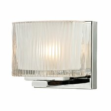 <strong>Elk Lighting</strong> Chiseled Glass 1 Light Bath Vanity Light