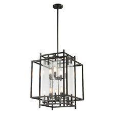 Intersections 8 Light Foyer Pendant